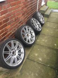 BMW mv4 alloy wheels