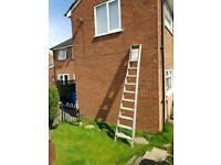 Aluminium step ladders (9 rung)