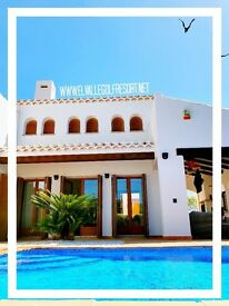 Luxury Spanish Villa with Pool | Holiday Rental | Costa Calida, Southern Spain