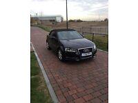 Audi A3 cabriolet black 1.2 Tfsi