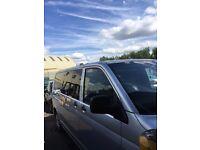 PCO Registered VW Transporter 9 seats Minibus