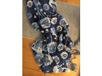 Pretty floral ladies scarf