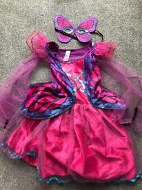 Girls bundle inc. dress up items inc. Frozen Anna Dress