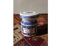 Vintage Dutch Mustard Jar/Spice/Delfts