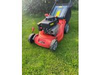 "Soveriegn Petrol self propelled lawnmower lightweight maintenance free poly deck mower 16""cut servic"
