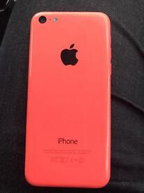 Iphone 5c pink 8gb really good condition