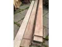 Scaffold boards £1 per foot