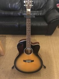 Tangelwood TSJ CE VS Electro Acoustic Guitar