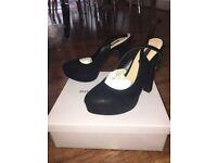DOROTHY PERKINS brand NEW black high heels size 6