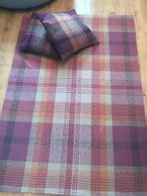 Next Rug & Matching Cushions