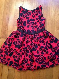 Jasper Conran age 6 red and navy dress