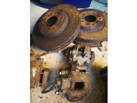 BMW E46 330 big brakes calipers and disc