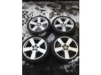 Vw Golf Mk4 Gti / Audi A3 Five Spoke 18'inch Alloy Wheels