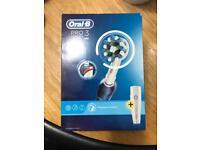 Brand new sealed oral b pro 3