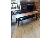 Mid century retro coffee table