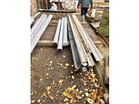 Large quantity of drains faschers and down pipes in white
