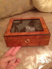 Watch box, rolex/cartier/omega