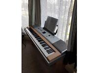 Yamaha keyboard 88 weighted keys dx650
