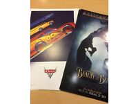 Beauty & the Beat and Cars 3 Cinema Posters