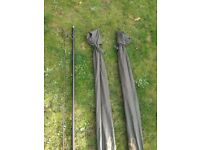 3X Century FMJ. 13ft rods, full cork handles. In good condition . Catch a carp at long range!
