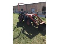 Kubota b7100 hst tractor with front loader 3 cylinder diesel