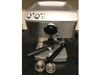 Barista coffee machine 15 Barr espresso Andrew James