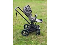 Cybex Priam All-Terrain Chassis Black & Lux Seat Manhattan Grey