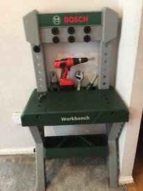 Bosh work bench for kids
