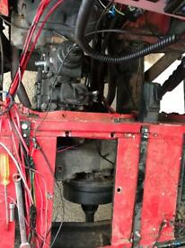 Land Rover Defender gear box Lt77 and transfer box from 1998 3.5 V8 long stick