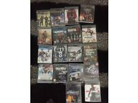 PS3 games , £2 per game or all 18 for £30 a bargain not to be missed
