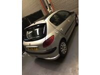 Stunning peugeot 206 Allure 1.6 low miles cheap to run