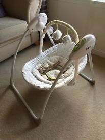 Mothercare Loved So Much Baby Swing Chair