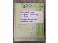 "OCP ""Foundations of Organic Chemistry"" - HORNBY/PEACH - ISBN 0198505833"