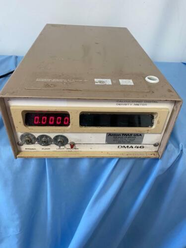 ANTON PAAR Calculating Digital Density Meter DMA 46  60 DAYS WARRANTY SEE VIDEO!