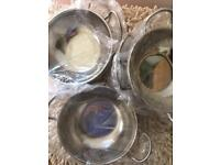 Joblot of Pataks Indian Serving Bowls. New