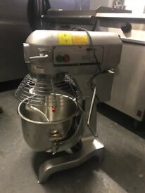 Commercial dough mixer catering bakery pizza kebab dough