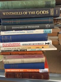 Job Lot OUT-OF-PRINT Books