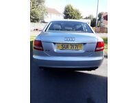2008 Audi A6. 12months mot . 55mpg.new timing belt tyres and brakes. £4000w