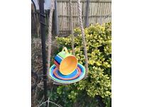 Summer style Teacup bird feeder