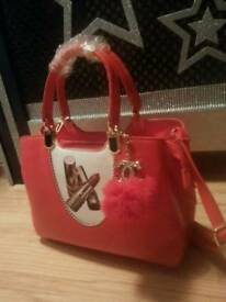 BRAND NEW BAG RED