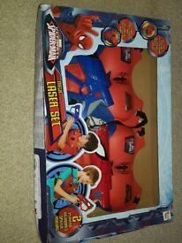 Spiderman Laser gun set