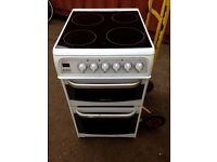 £105.00 hotpoint ceramic electric cooker+50cm+3 months warranty for £105.00