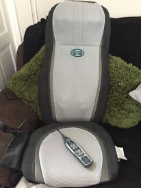 Brand new massaging portable homedics chair cover! FANTASTIC ! Heated & control £49