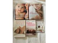 Pregnancy, Maternity and Baby Books Bundle in Immaculate Condition