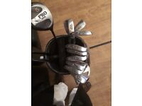 Beginners set of golf clubs