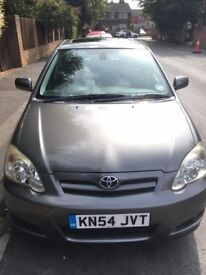 TOYOTA Corolla, 1.6, Sunroof, 2004 with only 55570 miles! Full service history.
