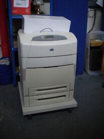 HO Color Laserjet 5550dtn A3 office printer FREE