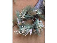 Xmas wreath & garland