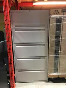 5 Drawer Lateral Filing Cabinets - $225