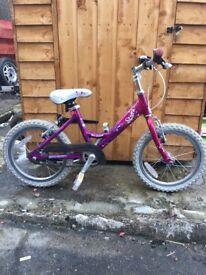 girls Raleigh bike age 5-7